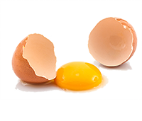 46932417-cracked-egg-and-shell-on-a-white-background-broken-chicken-egg-